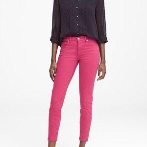 NEW Pink jeans sz 24 Banana Republic